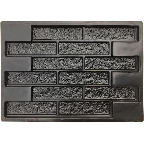 Moldes de hormigón Yeso de pared Piedra Azulejos de cemento Ladrillo DIY Pavimento de jardín Mohoo