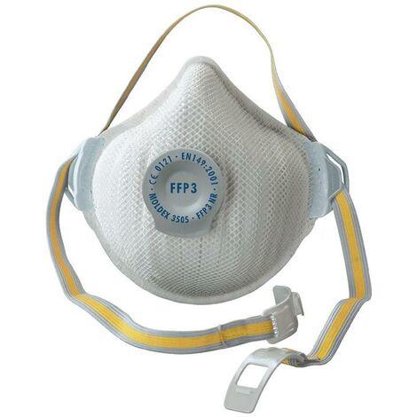 MOLDEX Atemschutzmaske Atemschutzmaske AIR 350501 FFP3 / V NR mit Ausatemventil