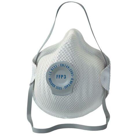 MOLDEX Atemschutzmaske Atemschutzmaske Klassiker 255501 FFP3 / V NR D mit Ausatemventil