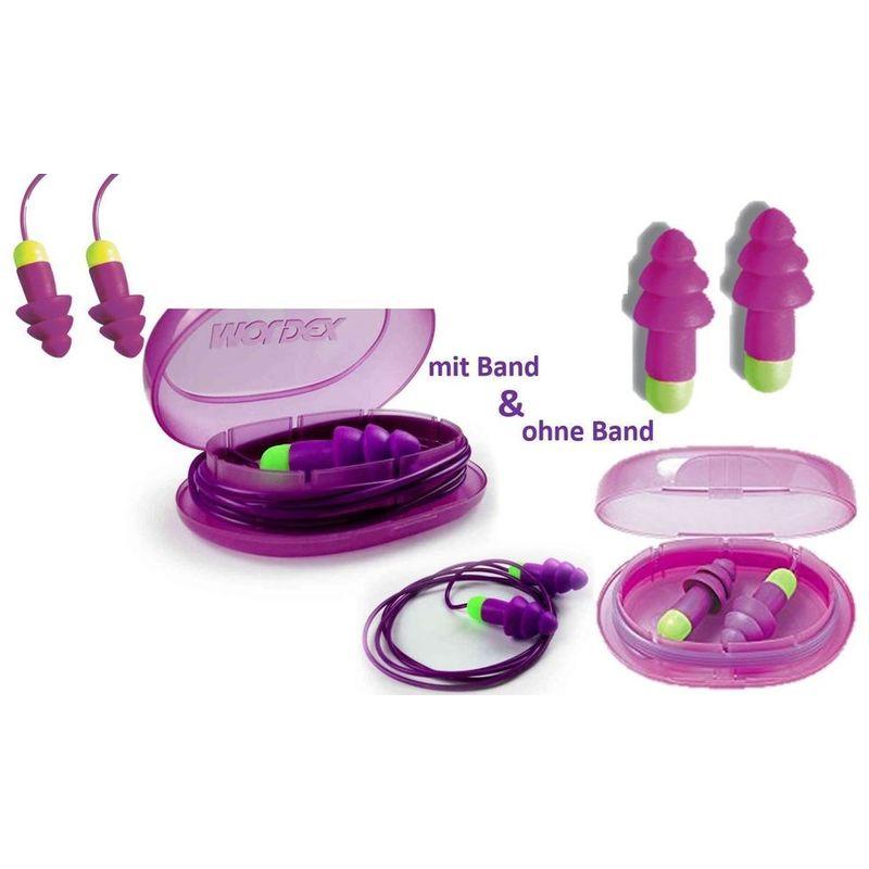 Band und Box 50 Paar Moldex Rockets Gehörschutzstöpsel Gehörschutz Ohrstöpsel m