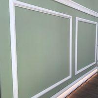 Moldura de pared decorativa Wallstyl WL1 guardasillas y cuarterones gran dureza - 2 metros
