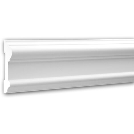 Moldura para pared 151307F Profhome Perfil de estuco Moldura flexible Moldura decorativa estilo Neoclasicismo blanco 2 m
