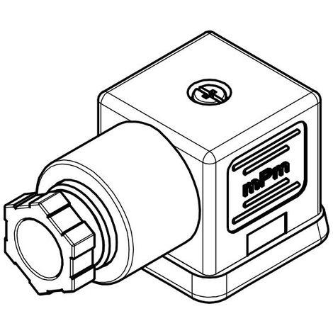 Molex S18209TA021 Connecteur Type A 2P PG9 - avec joint + vis - Transparent