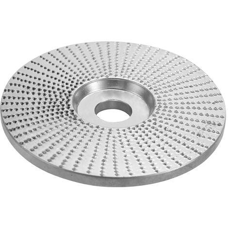 """Molienda Abrasivos disco de corte de madera para herramientas rotativas angulo de la rueda 5/8 """"de diametro diametro interior de 4 pulgadas de material 45 de acero"""