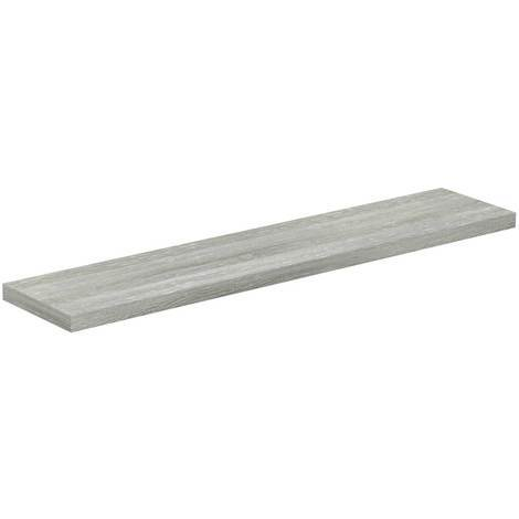 Molina Ash 600mm Floating Bathroom Shelf