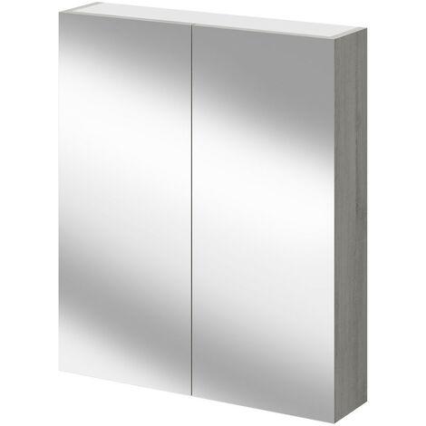 Molina Ash 600mm Mirror Wall Cabinet