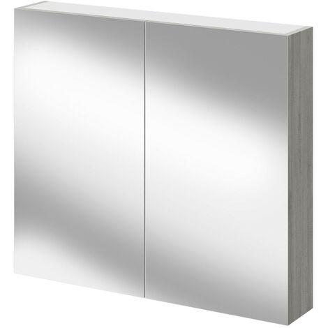 Molina Ash 800mm Mirror Wall Cabinet