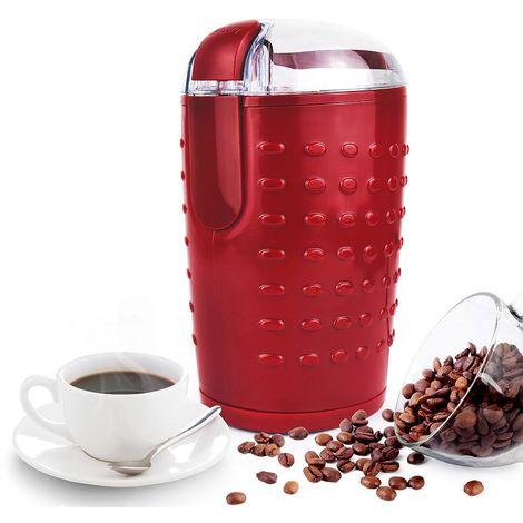 Molinillo de Café Eléctrico, Maquina de Molienda de Café, Nueces y Especias, Marrón, Potencia: 150 W