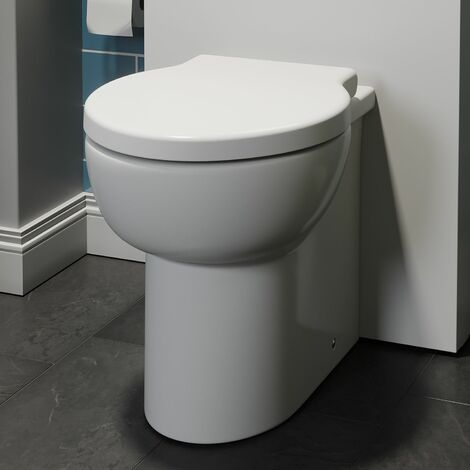 Monaco Back To Wall Toilet & Soft Close Seat