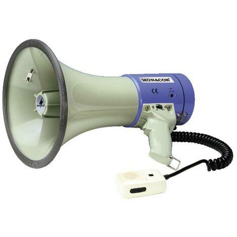 Monacor TM-27 Mégaphone sons intégrés, avec microphone à main