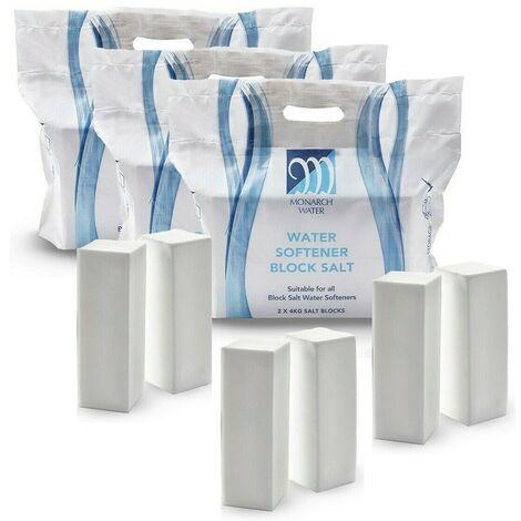 """main image of """"Monarch Ultimate Water Softener Block Salt 8kg Bag 6x 4kg Salt Blocks Food Grade"""""""