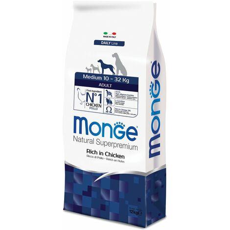 Monge Superpremium Medium Adult Pollo per cani Monge