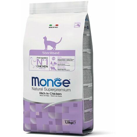 Monge Superpremium Sterilized Pollo per gatti Monge