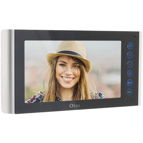 Moniteur 7'' pour portier vidéo à composer - modèle: Reflet, Horizon ou Open