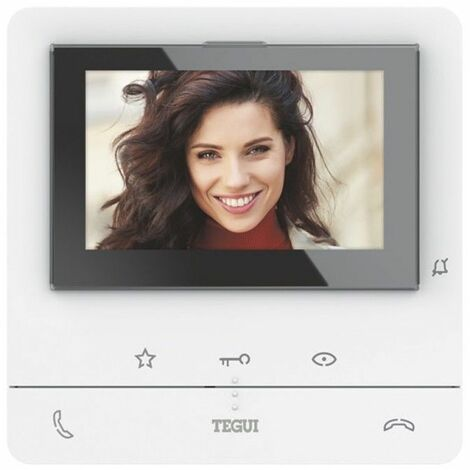 Monitor manos libres C100V16B Bticino 374511 CLASSE 100 2 Hilos