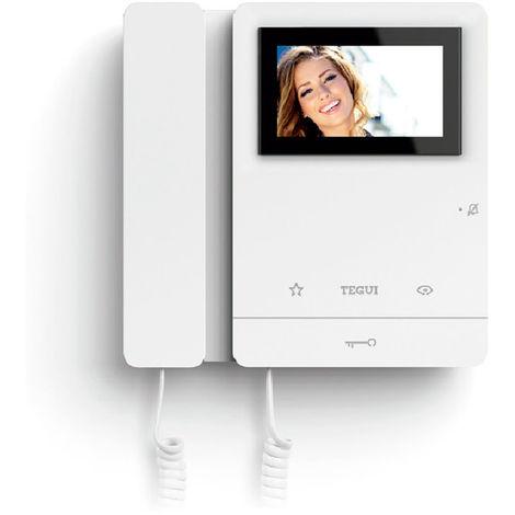"""main image of """"Monitor Tegui Serie 8 video portero Legrand ¡compacto!"""""""