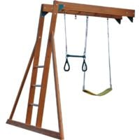 Monkey Bar with Trapeze & Swing (add-on)