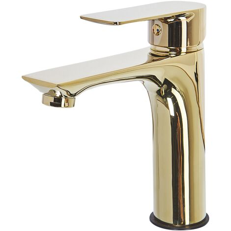 Mono Bathroom Basin Tap Gold BERLOI