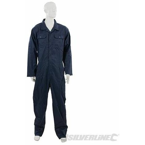 """Mono de trabajo, azul marino, XL 116 cm (46"""")"""