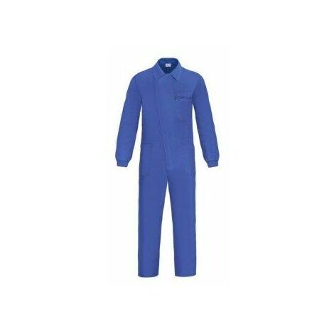 Mono Trabajo T58 Tergal Azul L500 Tapeta Cremallera