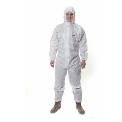 Mono Trabajo Xl Capucha Polipropileno Sms Desechable Blanco 3M