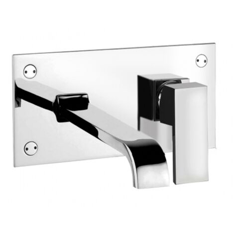 Monocomando miscelatore lavabo con bocca di erogazione Giulini Pablolux 9809