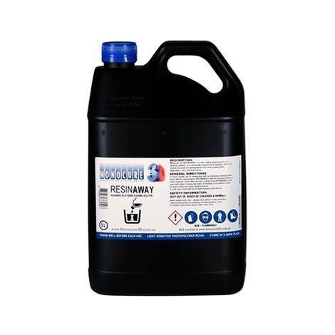MONOCURE RESINAWAY Nettoyant - solution de nettoyage de résine UV pour l'impression 3D - 2L/5L