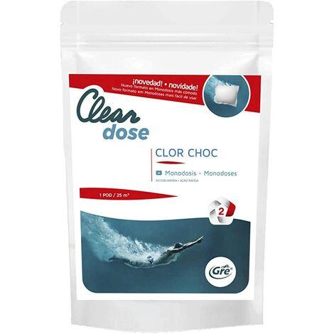 Monodosis de cloro choque GRE 300 gr PCLSCHE