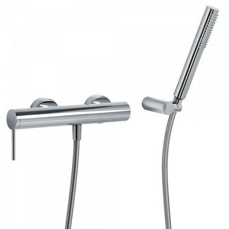 MONO‑TERM® douche Douchette à main anticalcaire avec support orientable et flexible satin - TRES 06216801