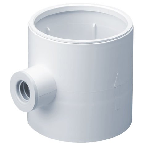 Monsoon Easipipe 100mm Condensation Trap inc Overflow (497)