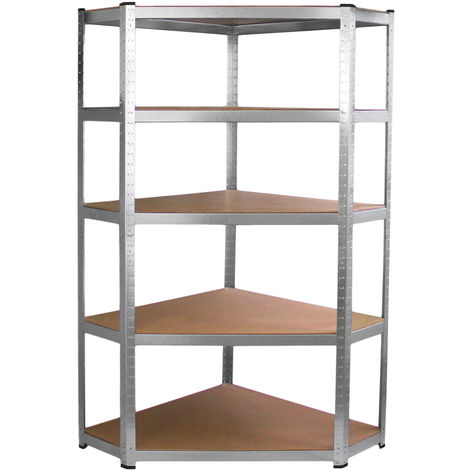 Monster Racking Galwix Corner Racking Storage Unit, 90cm Wide