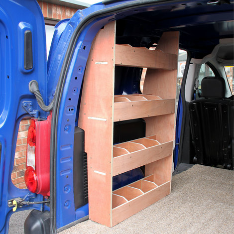 Monster Racking Peugeot Partner II SWB Van Rack