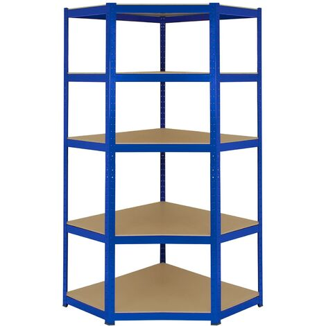 Monster Racking T-Rax Eckregal 90cm x 45cm x 183cm Blau