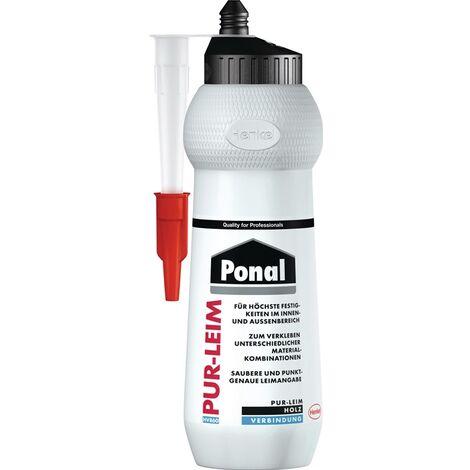 Montagekleber PUR-Leim EN 204: D4 transp.420g Flasche PONAL