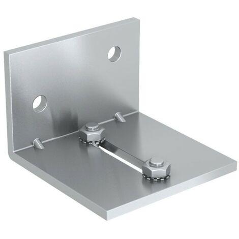 Montagewinkel Doppelschiene für SLID'UP 1300 Schiebetorbeschlag, für Durchgangstüren bis 60 kg