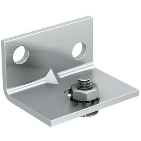 Montagewinkel für SLID'UP 1100, 1200 Schiebetürbeschlag, für Durchgangstüren bis 40 kg