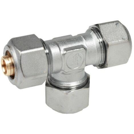 Montaje de Giacomini T con adaptadores para tubo estructurado 16x2 R564MX048