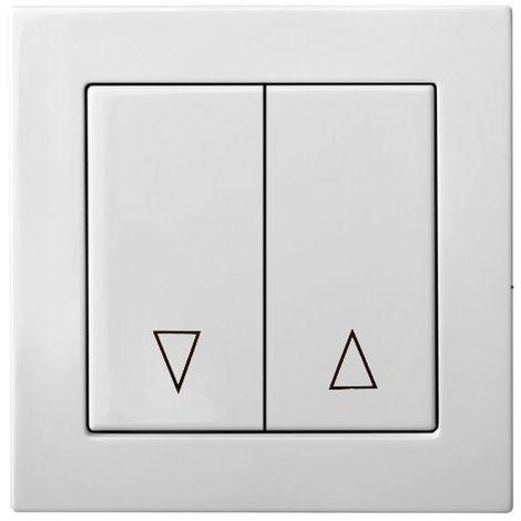 montaje empotrado Botones de control ciego, sin marco