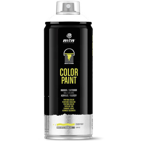 Montana Colors - Spray Blanco Satinado 400ml