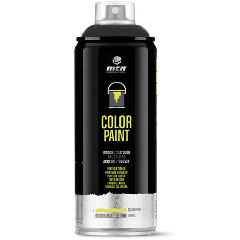 Montana Colors - Spray Negro Mate 400ml