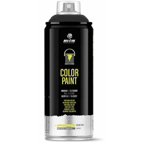 Montana Colors - Spray Negro Satinado 400ml