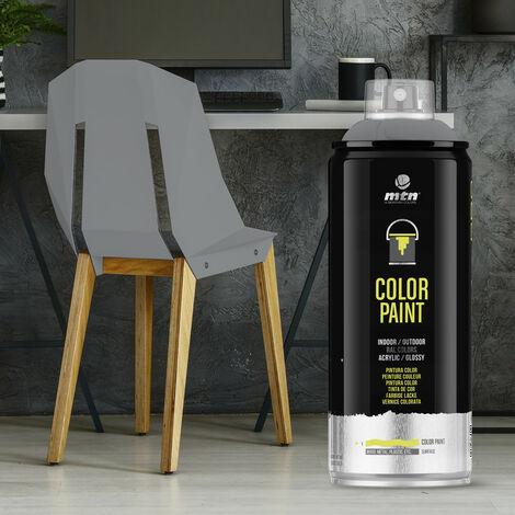 Montana Colors - Spray Ral Acrílico R-7001 Gris Plata 400ml