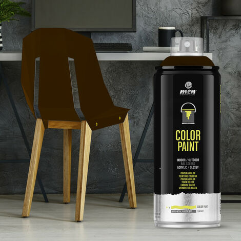 Montana Colors - Spray Ral Acrílico R-8016 Caoba 400ml