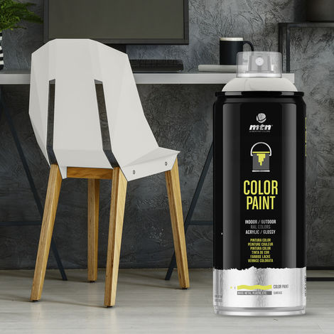 Montana Colors - Spray Ral Acrílico R-9002 Blanco Grisáceo 400ml