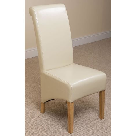 Montana Dining Chair [Ivory Leather]