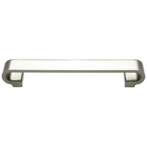 Monte Carlo Brushed Nickel Double G Furniture Handle (160mm Centres)