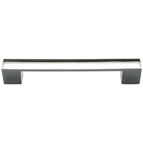 Monte Carlo Chrome Rectangular Furniture Handle (160mm Centres)