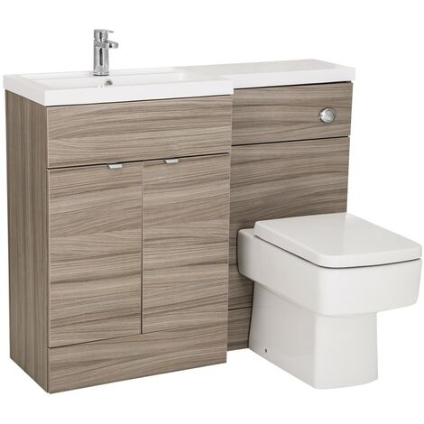 Monte Carlo Driftwood 1100mm Combination Furniture Pack - Left Hand