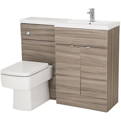 Monte Carlo Driftwood 1100mm Combination Furniture Pack - Right Hand