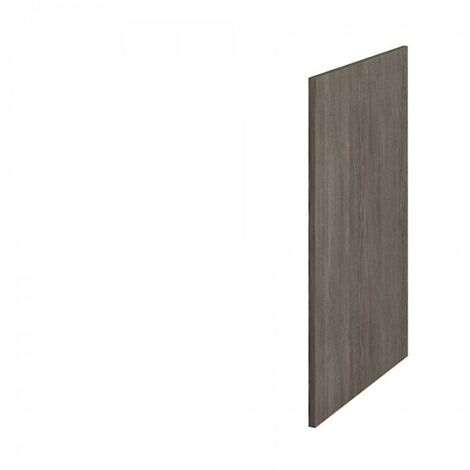 Monte Carlo Grey Avola 370mm x 890mm Decorative Infill Panel/Rep End